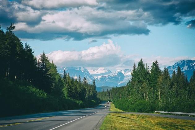 Cruising the Alaska Highway